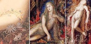 Galatea (Moreau, 1878 - 80)、Galatea (Moreau, c. 1893)、Galatea (Moreau, c. 1896)