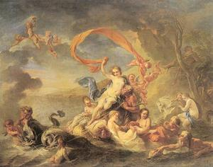 「The Triumph of Galatea」Jean Baptiste van Loo