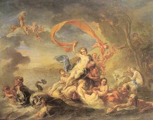 「The Triumph of Galatea」Jean Baptiste van Loo