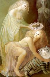 Le Couronnement de la Bienheureuse Féline Image Copyright(画像引用) Leonor Fini (Relié) by Leonor Fini(出版  Favre)