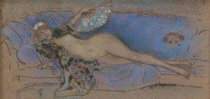 James McNeill Whistler 「Lapis Lazuli」(1885-86) Isabella Stewart Gardner Museum