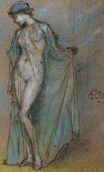 Female Nude with Diaphanous Gown 年代不詳