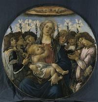 La Vierge à lEnfant avec anges chanteurs 1477年