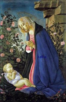 The Virgin Adoring the Sleeping Christ Child<br />