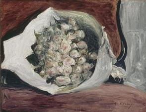 楽屋の花束 Musée de l'Orangerie