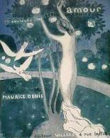 アモール 12色石版画 表紙 L'ÉCHELLE DANS LE FEUILLAGE 、Cover「Amour 12 color lithographs」1895年