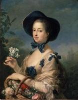 Carle VanlooThe Marquise de Pompadour as a Shepherdess, circa 1760