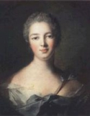 A portrait of Madame Pompadour as Diane 1748