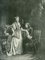 Tartuffe by Molière ,カール・ハインリッヒ・ホフ(Author: Carl Hoff )、J.ボーリン(Engraver: J Ballin )