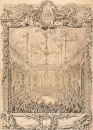 Charles-Nicolas Cochin the younger シャルル=ニコラ・コシャン「The Costumed Ball Held」王太子の祝賀行事でのオペラの図と同じ王太子の祝賀会です。