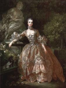 François Boucher, Portrait of Marquise de Pompadour, 1759