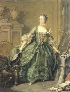 Francois Boucher Madame de Pompadour 1750年