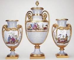 Mounted vases once owned by Marie-Antoinette, 1779