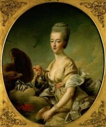 Portrait of Marie Antoinette by Francois Drouet