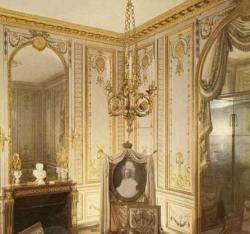 Cabinet doré de Maria Antoinette. Versailles