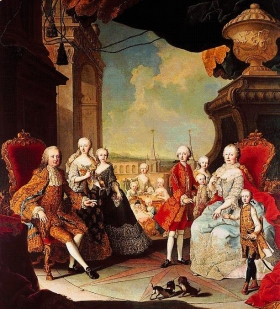 MariaTheresia with family (1754)