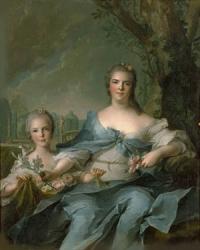 Isabella Louise Elisabeth de Parma(1750) Nattier, Jean-Marc  Hillwood Museum, Washington D.C.