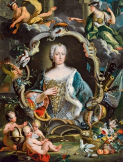 Maria Theresia as Queen of Hungary