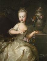 Archduchess Maria Josepha of Austria by Martin van Meyten