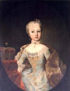 Archduchess Maria Josepha Habsburg-Lothringen (1751-67)