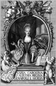 Maria Carolina d'Austria regina di Napoli e Sicilia