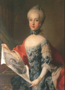 Maria Karolina of Austria Young