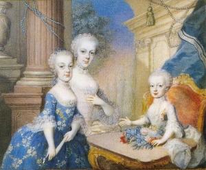 Caroline, Josepha, Antonia(Antoinette)