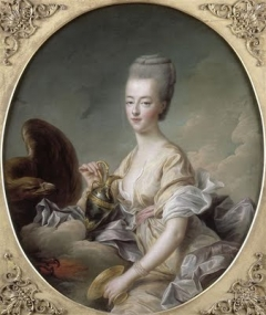 Dauphine Marie-Antoinette as Hebe(Musée Condé, Chantilly)