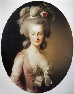 ランバル公妃マリー・テレーズ・ルイーズ・ド・サヴォワ=カリニャン Marie-Thérèse Louise de Savoie-Carignan,Princesse de Lamballe