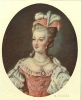 This portrait of Marie Antoinette