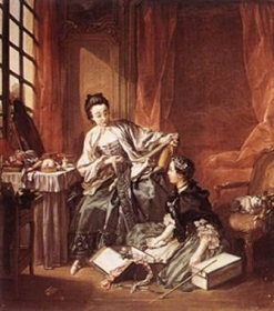 François Boucher, La Marchande de modes