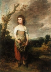 Gainsborough, Girl Gathering Faggots (Daughter of the Abdy family) 1782