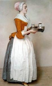 Jean-Etienne Liotard - La fille de chocolat