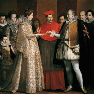 Marie de Medicis marriage