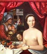 フランソワ・クルーエによるディアーヌ・ド・ポワチエ(Diane de Poitiers)