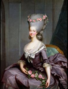 Marie Therese de Savoie, princesse de Lamballe