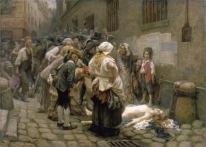 Mort de la princesse de Lamballe 1792