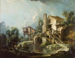 Le Pigeonnier (Le Moulin de Charenton) by Francois Boucher