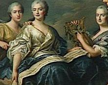 Royal Princess , daughters of Louis XV