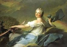 Jean marc nattier - madame marie-adélaide de France