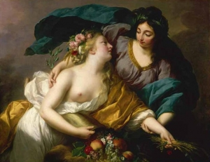 Peace Bringing Abundance -1780