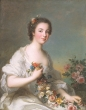 Jean-Marc Nattier - Portrait of a Lady