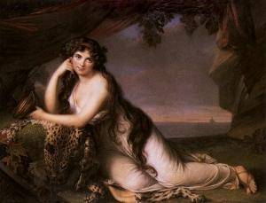 Elisabeth Vigée-Lebrun - Lady Hamilton as Ariadne