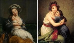 Elisabeth Louise Vigée-Lebrun, Madame Vigée-Lebrun et sa fille