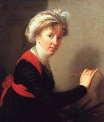 Élisabeth Vigée-Lebrun: Self-Portrait, 1800