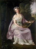 Marie Antoinette als die Muse Erato