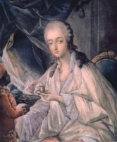 Madame du Barry by Jean Baptiste Andre Gautier DAgoty