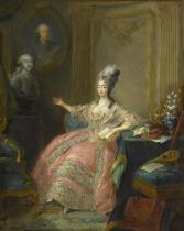 Marie Josephine de Savoie by Jean-Baptiste-André Gautier dAgoty (1740-1786)