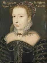 Porträ Margaretes von Valois François Clouet, im Musée Condé, Chantilly