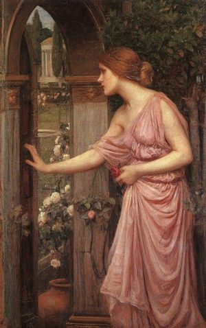 Psyche Opening the Door into Cupids Garden